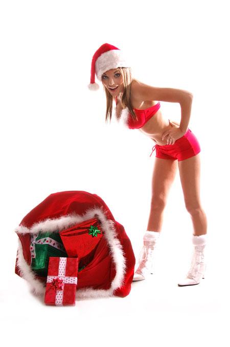 Naked teen girls in stockings