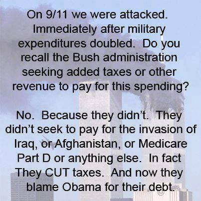 Blame For the Debt