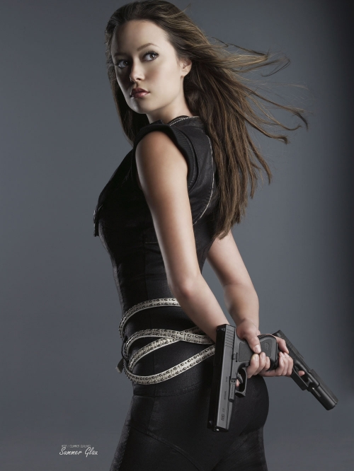Summer Glau as a Terminator