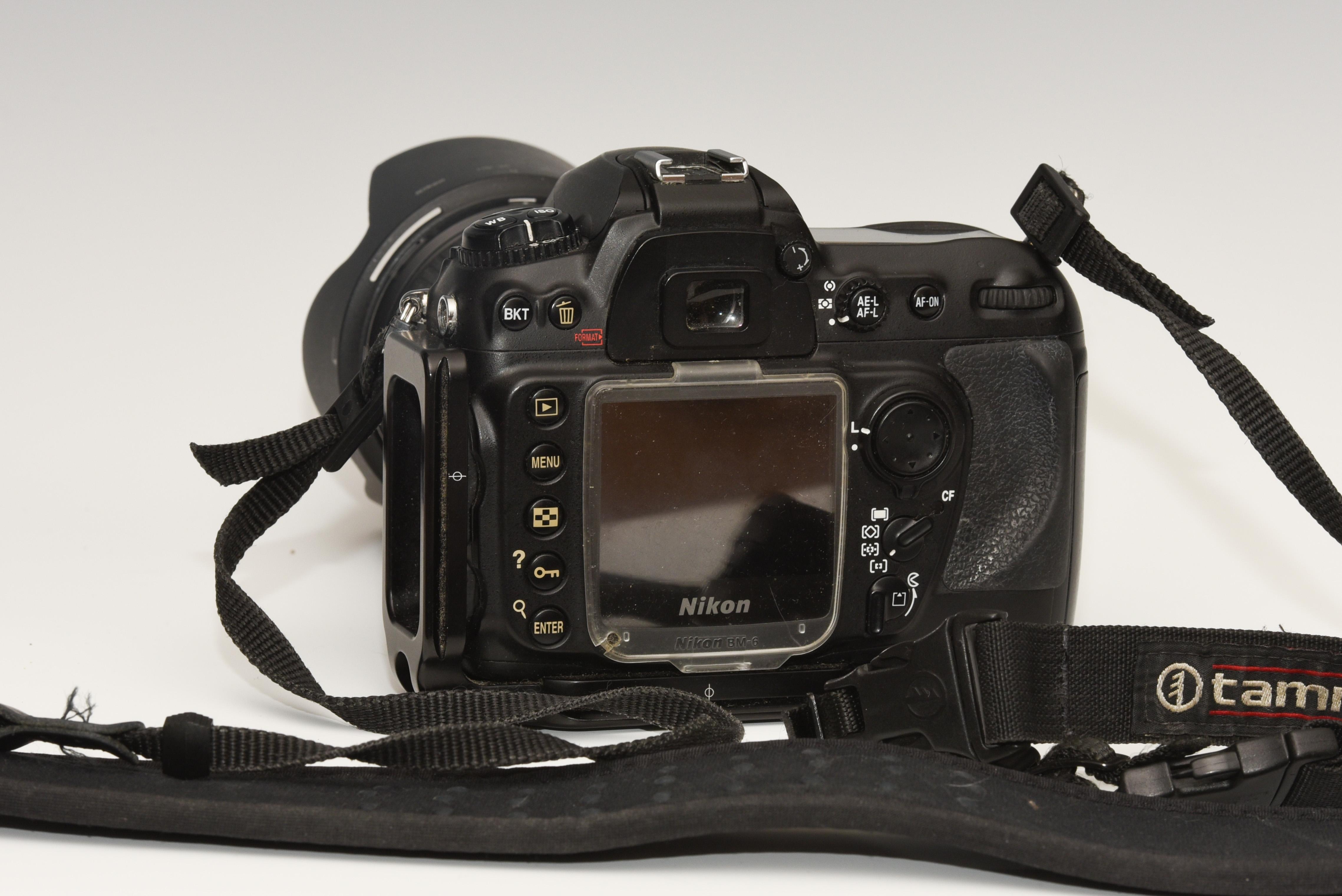 Nikon D200 Back View
