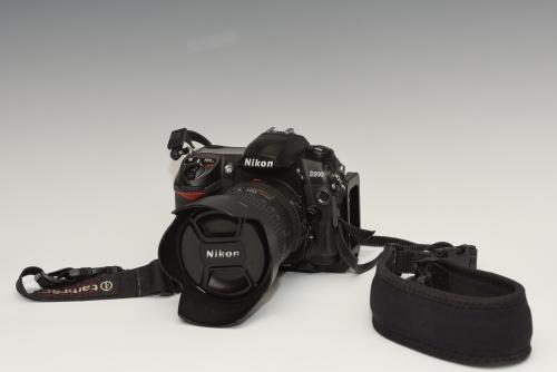 Nikon D200 Front View