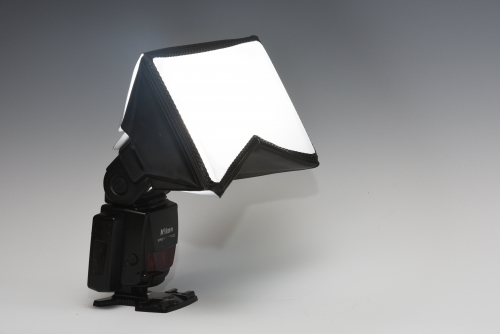 Flash With Mini Softbox