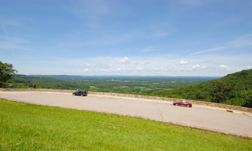 Scenic Overlook in Eastern Pennsylvania