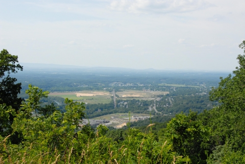 Front Royal, Virginia, from Skyline Drive