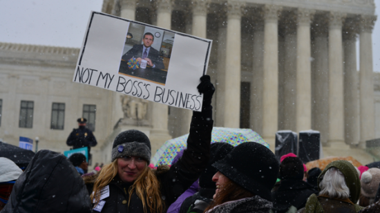 Protesting the Hobby Lobby Decision
