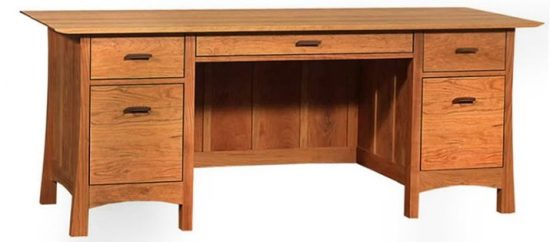 Contemporary Craftsman Executive Desk
